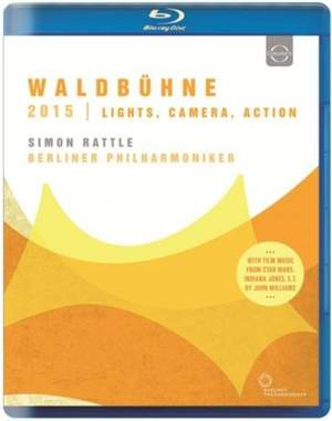 Waldbühne 2015: Lights, Camera, Action