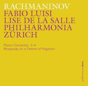 Rachmaninov: Piano Concertos 1-4 & Rhapsody on a Theme of Paganini Product Image
