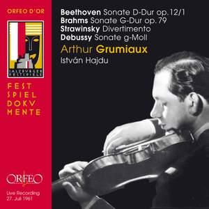 Arthur Grumiaux plays Beethoven, Brahms, Stravinsky, Debussy