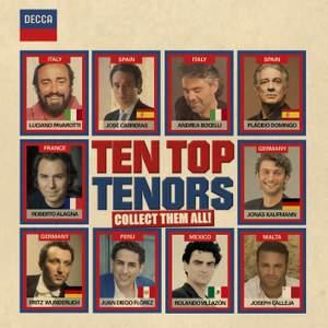 Ten Top Tenors Product Image