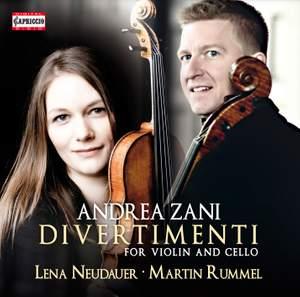 Andrea Zani: Divertimenti for violin and cello