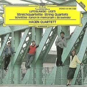Ligeti, Lutoslawski & Schnittke: String Quartets