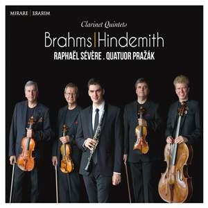 Brahms & Hindemith: Clarinet Quintets