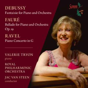 Valerie Tryon plays Debussy, Fauré & Ravel Product Image