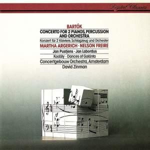 Bartok: Concerto for 2 pianos & Kodaly: Dances of Galanta