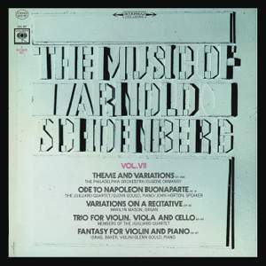 The Music of Arnold Schoenberg: Chamber Music