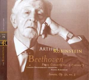 Rubinstein Collection, Vol. 79: Beethoven: Piano Concerto No. 5 & Piano Sonata No. 18