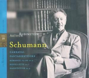 Rubinstein Collection, Vol. 20: Schumann: Piano Works