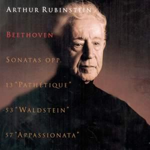 Rubinstein Collection, Vol. 33: Beethoven: Piano Sonatas Nos. 8, 21 & 23
