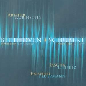 Rubinstein Collection, Vol. 12: Beethoven & Schubert: Piano Trios