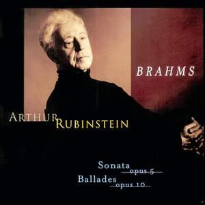 Rubinstein Collection, Vol. 63: Brahms: Piano Works