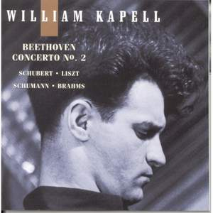 William Kapell Edition, Vol. 5: Beethoven: Concerto No.2 & other piano works