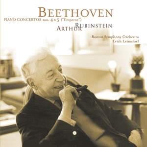 Rubinstein Collection, Vol. 58: Beethoven: Piano Concertos Nos. 4 & 5