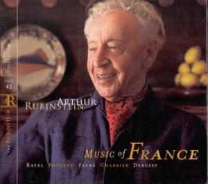 Rubinstein Collection, Vol. 43: Works by Ravel, Poulenc, Chabrier & Debussy