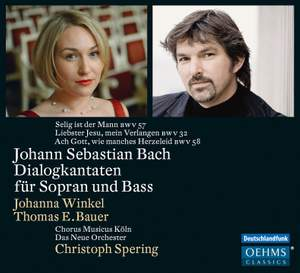 JS Bach: Dialogue Cantatas for Soprano and Bass Product Image