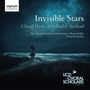 Invisible Stars: Choral Works of Ireland & Scotland Product Image