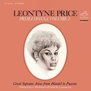 Leontyne Price: Great Soprano Arias from Handel to Puccini
