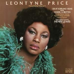 Leontyne Price: Great Soprano Arias from Handel to Britten