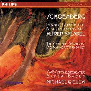 Schoenberg: Piano Concerto and Chamber Symphonies Nos. 1 & 2 Product Image