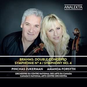 Brahms: Double Concerto & Symphony No. 4