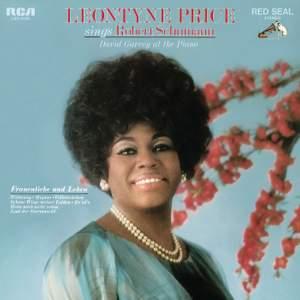 Leontyne Price sings Schumann