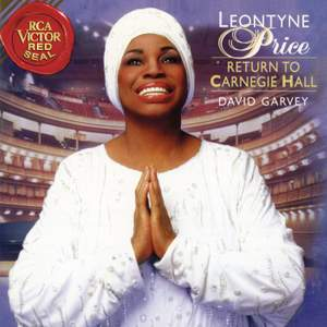 Leontyne Price - Return to Carnegie Hall