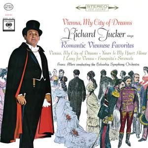Richard Tucker - Vienna, My City of Dreams