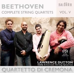 Beethoven: Complete String Quartets Volume 5