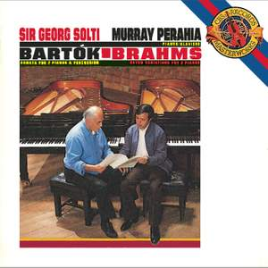 Bartók: Sonata for Two Pianos and Percussion & Brahms: Variations on a Theme by Haydn