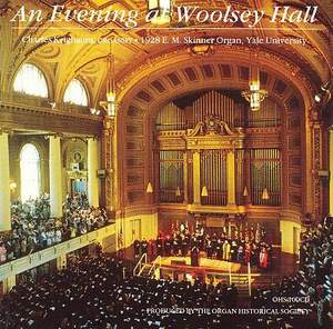 An Evening at Woolsey Hall