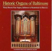 Historic Organs of Baltimore
