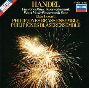 Handel: Fireworks Music, Water Music & other works