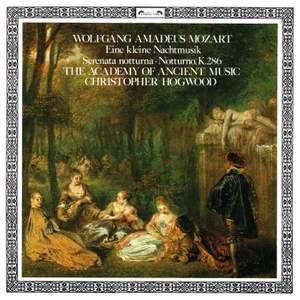 Mozart: Eine kleine Nachtmusik, Serenata notturna & Notturno Product Image