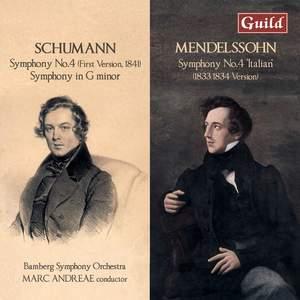Schumann & Mendelssohn: Symphonies No.4