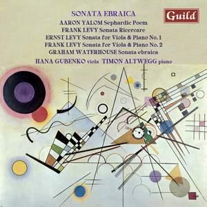 Sonata Ebraica: works for viola & piano