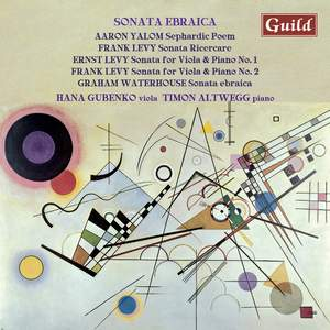 Sonata Ebraica: works for viola & piano