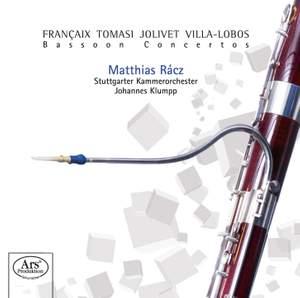 Françaix, Tomasi, Jolivet & Villa-Lobos: Bassoon Concertos
