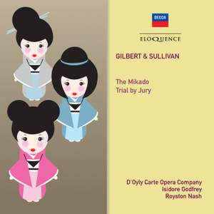 Gilbert & Sullivan: The Mikado & Trial by Jury Product Image