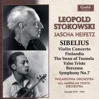 Leopold Stokowski conducts Sibelius