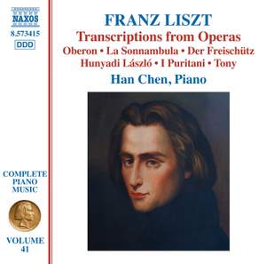 Liszt: Complete Piano Music Volume 41 Product Image