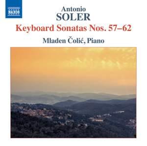 Antonio Soler: Keyboard Sonatas, Nos. 57-62