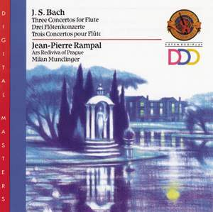 JS Bach: Concerti for Flute, Strings, and Basso Continuo
