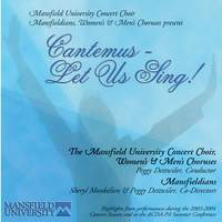 Cantemus: Let Us Sing! (Live)