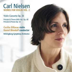 Nielsen: Works for Violin Vol. 2