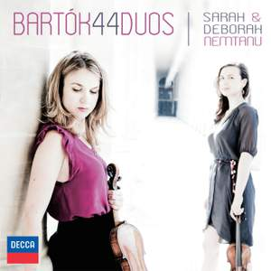 Bartók: 44 Duos for Two Violins, BB 104, Sz. 98