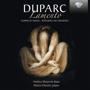 Duparc: Lamento Product Image