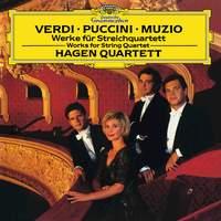 Verdi, Puccini & Muzio: Works for String Quartet