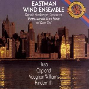 Works by Copland, Vaughan Williams, and Hindemith
