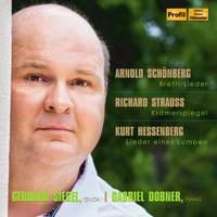 Gerhard Siegel sings Schoenberg, Strauss & Hessenberg