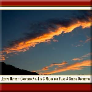Haydn: Keyboard Concerto No. 4 in G major, Hob.XVIII:4 Product Image